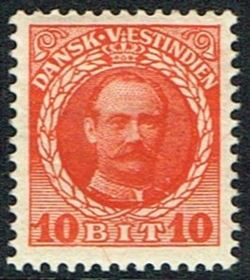 Danish West Indies 1907-1908