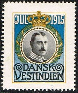 Danish West Indies 1915
