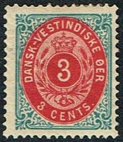 Danish West Indies 1873-1874