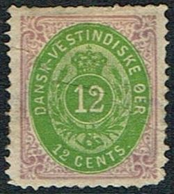 Danish West Indies 1876-1879
