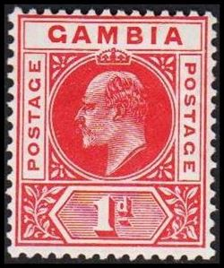 Gambia 1902-1905