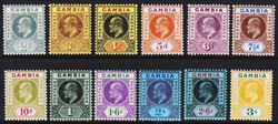 Gambia 1909