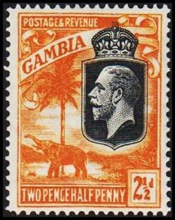 Gambia 1922-1927
