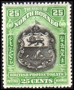 North Borneo 1925-1928