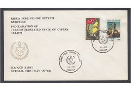 TURKISH FEDERATED STATE OF CYPRUS 1975